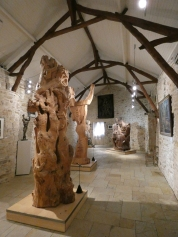 wooden sculptures of Zadkine